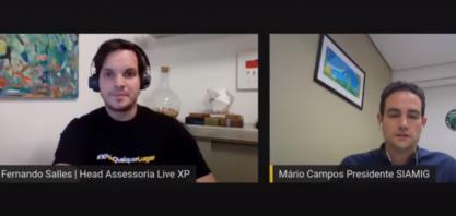 Mário Campos fala da importância do setor sucroenergético para o país e o Renovabio em live com a XP Investimentos