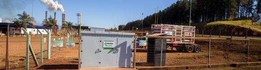 Usina Santa Cruz  é a primeira unidade sucroenergética do Brasil a ser interligada à rede de distribuição de gás natural