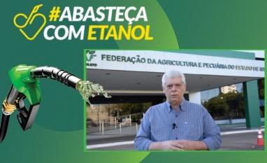 Presidente da Federação da Agricultura de Mato Grosso aceita #DesafiodoEtanol