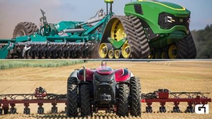 De onde vem o que eu como: à frente dos carros, máquinas agrícolas já estão próximas da autonomia completa