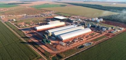 Ampliação de usina em Sorriso deve ser concluída no ano que vem e planeja ser a maior do Brasil