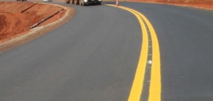 Obras de asfaltamento na LMG-799 feitas pela Delta Sucroenergia em parceria com o governo entram na fase final