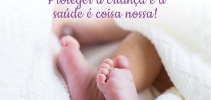 """""""Proteger a criança e a saúde é coisa nossa"""", nova campanha da SIAMIG"""