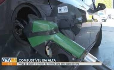 Preço do etanol é o maior da história para esta época do ano, diz ANP