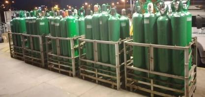 JBS envia 200 cilindros de oxigênio para pacientes com Covid-19 em Manaus