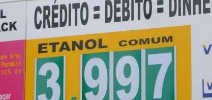 No rastro do aumento da gasolina, álcool vai a quase R$ 4 nos postos de BH