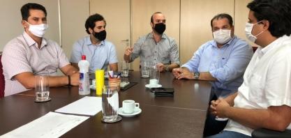 Fomento aos plantadores de cana foi tema de reunião entre Asplana e secretário George Santoro