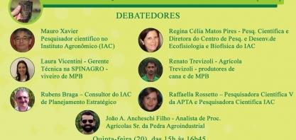 """LIVE """"A CANA-DE-AÇÚCAR E O SHOW DA MUDA PRÉ-BROTADA (MPB)"""""""
