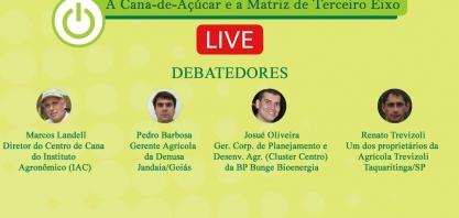"""Live """"A Cana-de-Açúcar e a Matriz do Terceiro Eixo"""""""