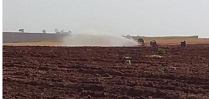Alcoolvale : Agrícola utiliza fertirrigação no combate à seca