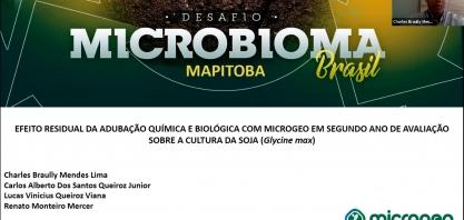 Segundo trabalho finalista do 'Desafio Microbioma Brasil' é de Luís Eduardo Magalhães, na Bahia